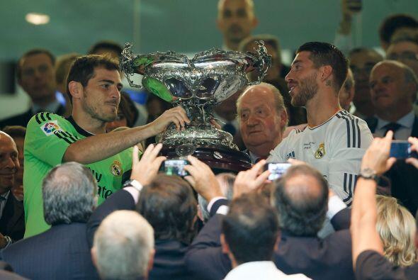 El Trofeo Santiago Bernabéu se quedó en casa y Casillas, q...