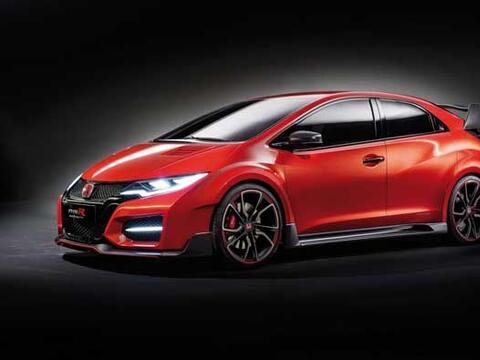 El Civic Type R Concept nos da una muestra de lo que será la vers...