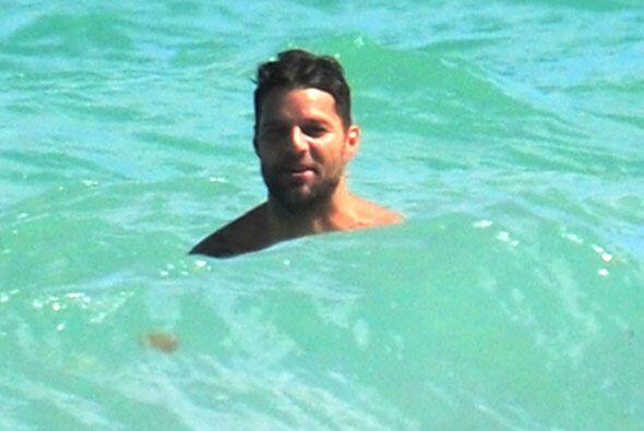 Ricky Martin está enamorado y se lo demuestra al mundo con estas...