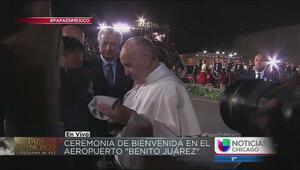 Cómo fue la recepción del papa Francisco a su llegada a México