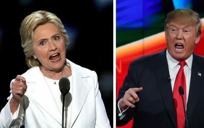 En un minuto: Trump y Clinton se enfrentan en la última y decisiva batal...