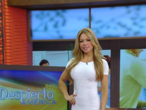 Claudia Molina se unió a la campaña de salud que esta semana está promov...