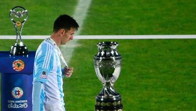 La tristeza de Messi