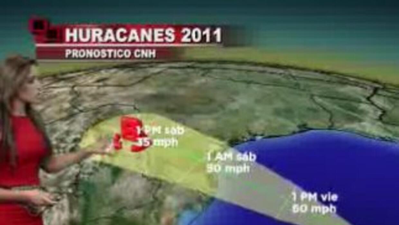 La Tormenta Tropical Don no se convertiría en huracán