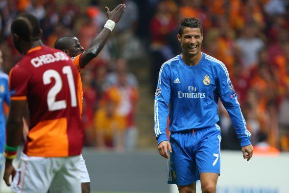 La sonrisa de Cristiano lo decía todo cuando marcó el 4-0.