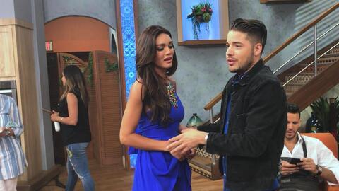 Detrás de cámaras: Zuleyka Rivera hizo tremendo drama porque no encontra...