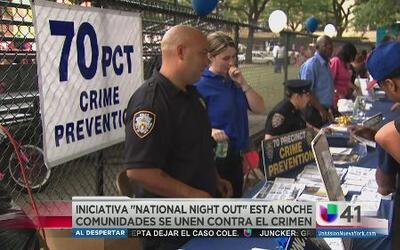 Comunidades unidas contra el crimen