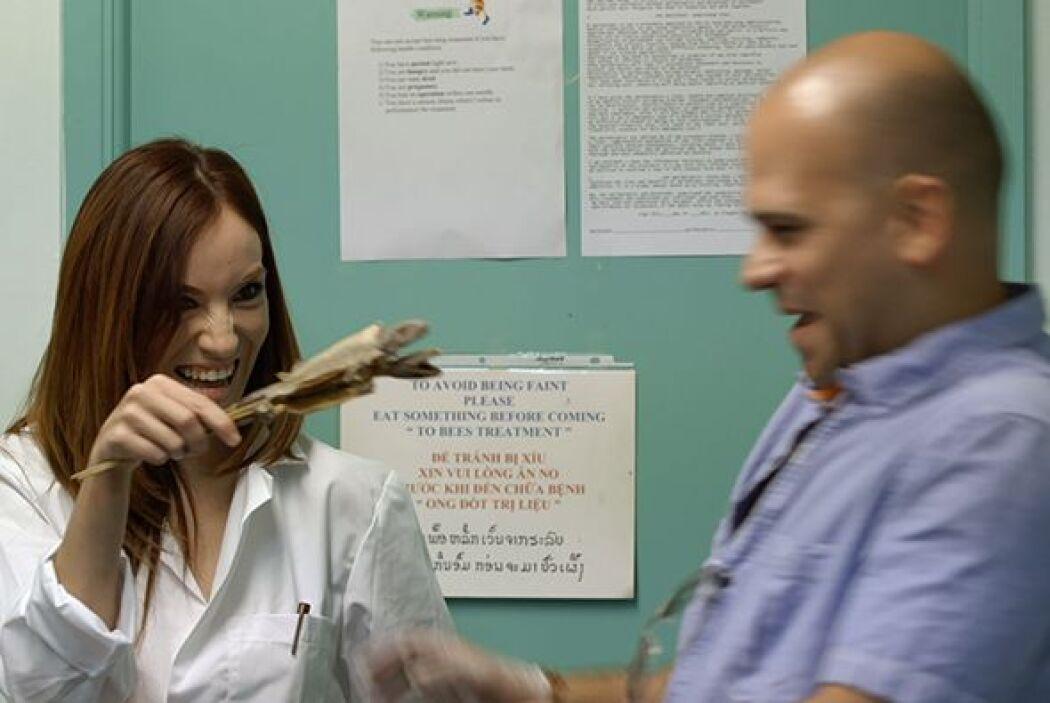 Sin embargo, lo más simpático del encuentro fue cuando el doctor Juan re...