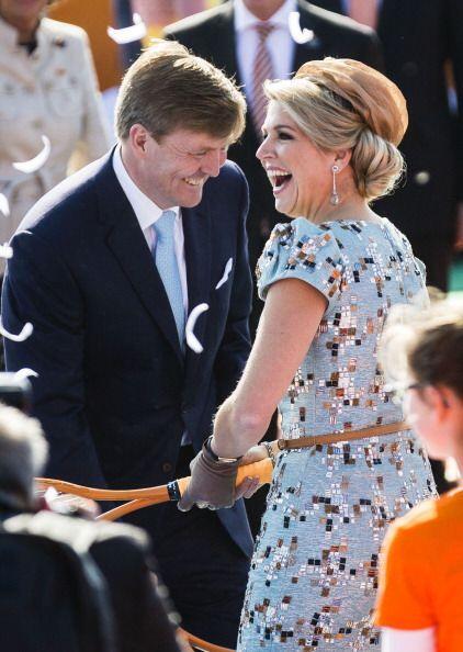 Su esposa Máxima cuenta con el respaldo de la inmensa mayoría de la pobl...