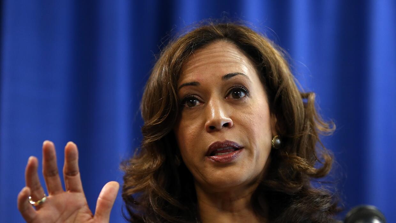 Kamala Harris, fiscal de California