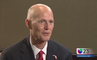 """Scott promueve en Miami su proyecto de ley a favor de los """"dreamers"""""""