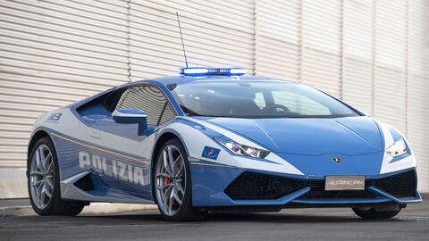 Esta joya se suma a las filas de la policía de Roma, para combati...