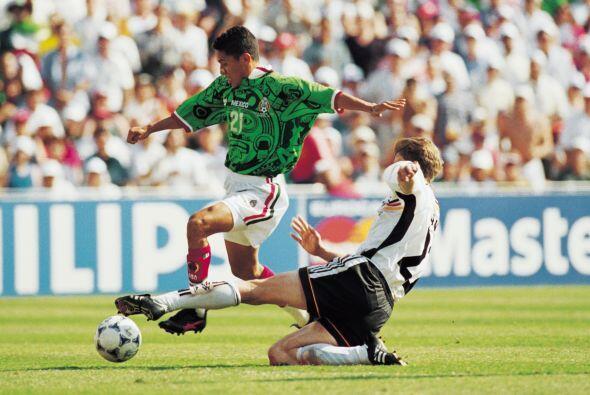 En Octavos de Final se vio las caras con Alemania, México comenz&...