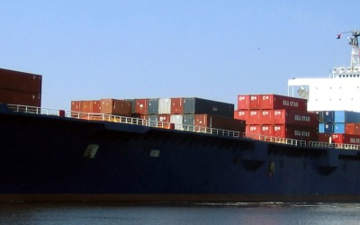 En esta foto sin fecha proveída por TOTE Maritime se ve el carfuero El F...