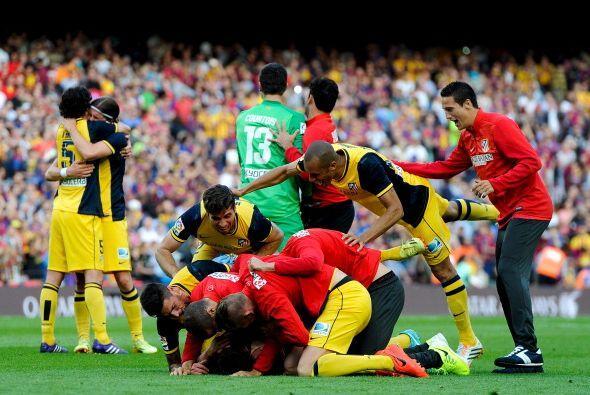El Atlético dejó escapar el título una semana atrás en Málaga y tuvo que...