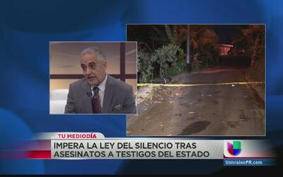 El Estado falla en brindar protección a testigos de crímenes en Puerto Rico
