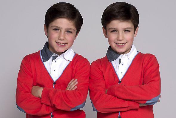 Y si de traviesos hablamos, los gemelos Guille y Alex pondrán de cabeza...