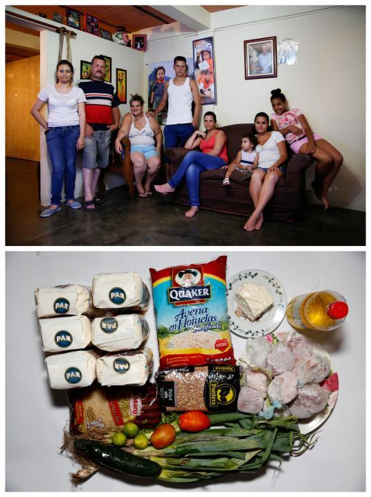 Ricardo Méndez tiene una familia numerosa que enfrenta el reto de encont...
