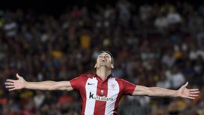 Aduriz hizo el gol del empate ante Villarreal.