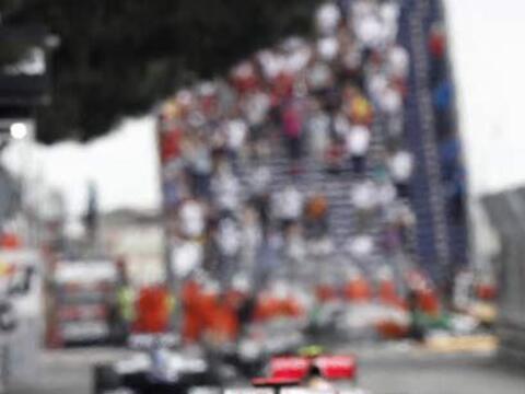 El polaco Robert Kubica tuvo una de sus mejores carreras de la temporada...