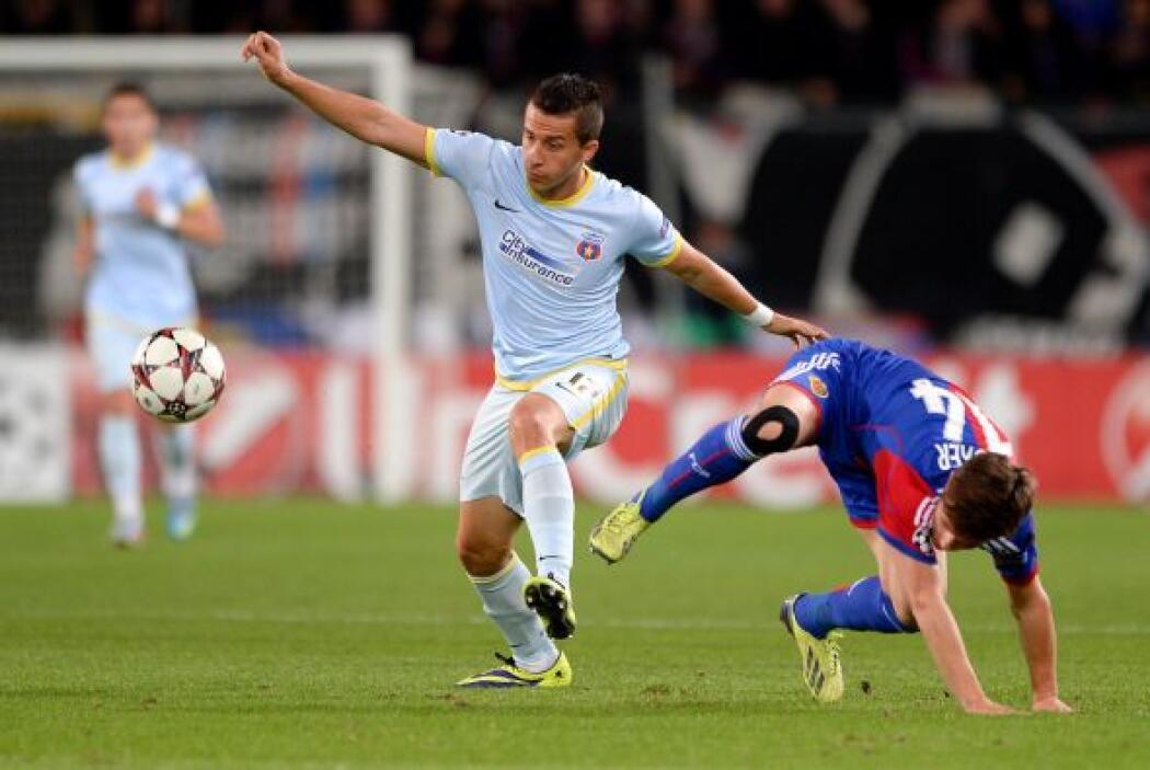 El Basel suizo jugaba como local ante el Steaua de Bucarest.