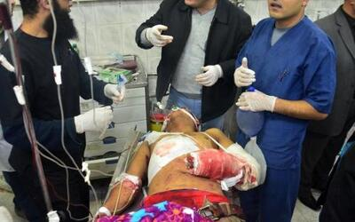 Shawadfi hizo un llamamiento a la población para que done sangre para lo...