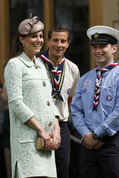 Kate Middleton y Kim Kardashian van casi a la par en su embarazo. Pero l...