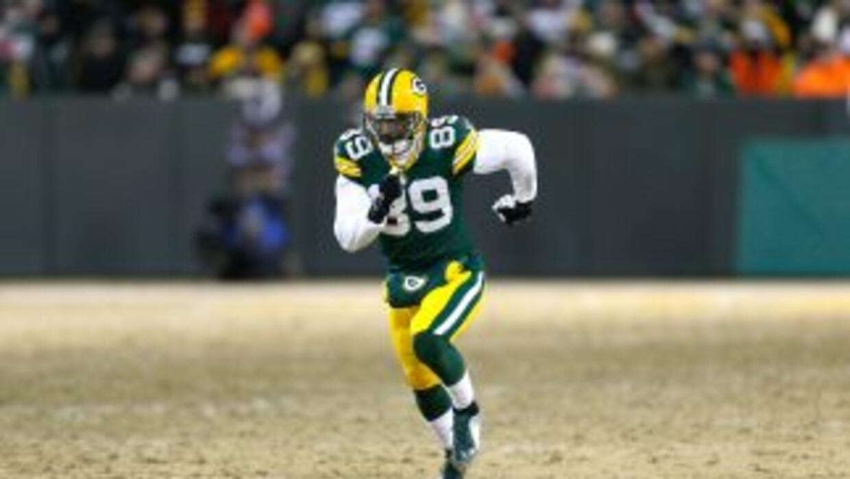 James Jones quiere quedarse en los Packers (AP-NFL).