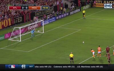 Triplete de Almirón incrementa la paliza del Atlanta al Dynamo