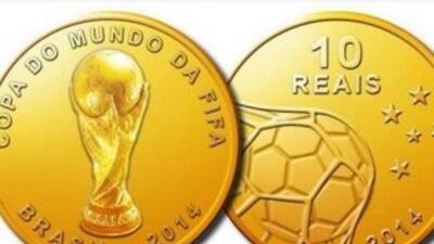 El Banco Central de Brasil presentó una serie de monedas conmemorativas...