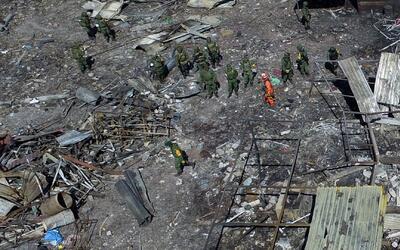 """Uno de los héroes de la explosión en Tultepec: """"A uno le nace la fuerza..."""