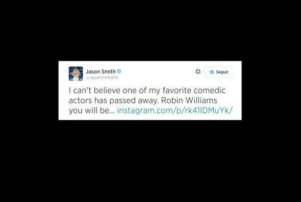 El basquetbolista Jason Smith, se unió a la lista de deportistas que lam...