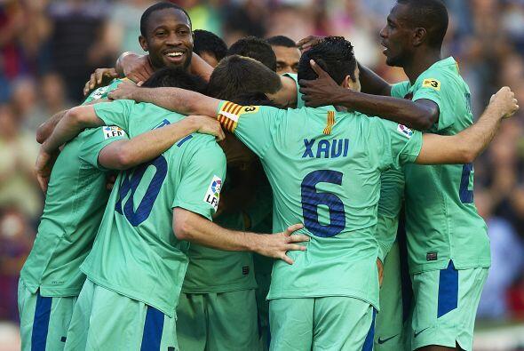 El Barcelona empató ante el Levante y se coronó como campeón de la LIga...