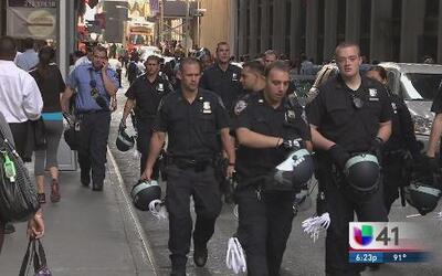 NYPD protegerá al Papa en su visita a Nueva York