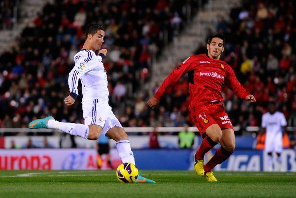 Cristiano Ronaldo quería unirse a la lista de goleadores.