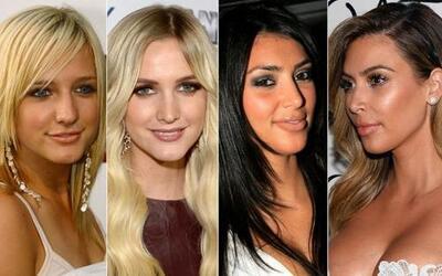 Las celebridades más hermosas del cine, música y televisión no siempre f...