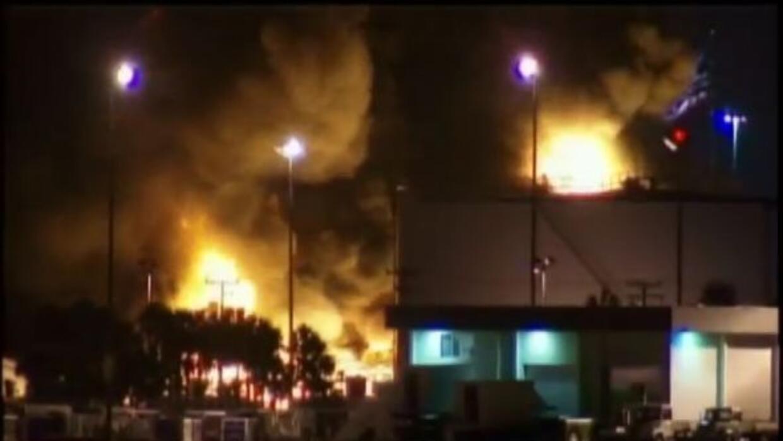 A pesar del voraz incendio no hubo heridos.
