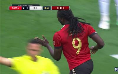 Jones pone en ventaja a Atlanta United vs DCU