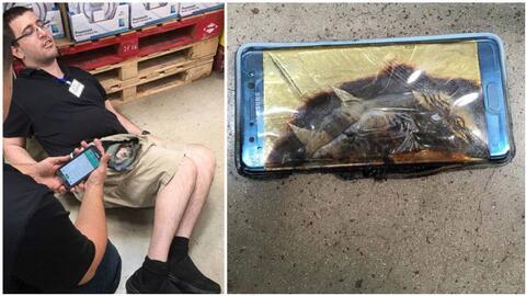 Jonathan Strobel demandó a Samsung luego alegara que su Galaxy No...