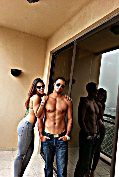 Hace poco Karol viajó a Dubai para visitar a su esposo Yhonnier Betancou...