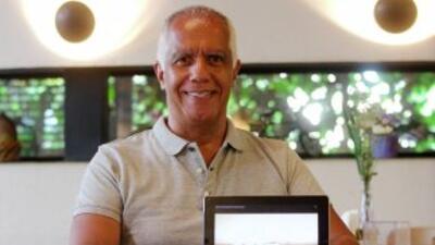 Manoel Belem, un físico brasileño que se encuentra entre los aspirantes...