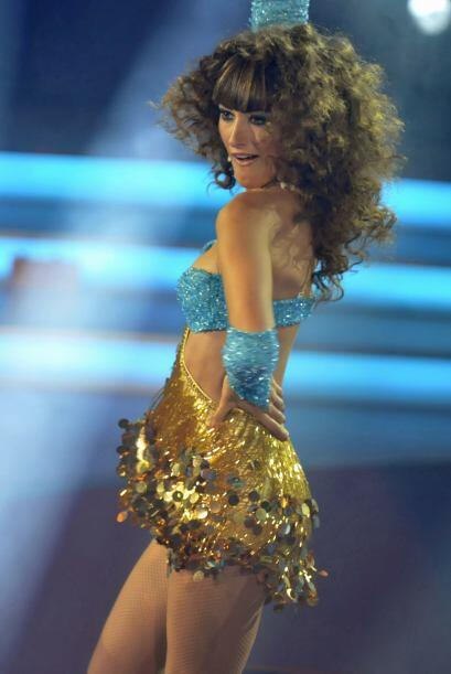 ¿Quién no querría ser pareja de baile de la guapa española?