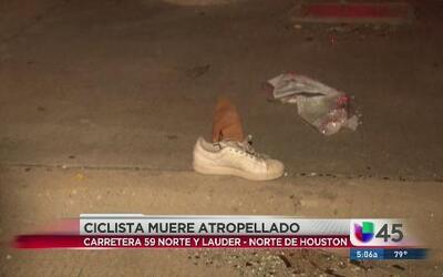 Ciclista murió atropellado