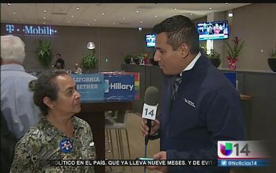 Demócratas de San Francisco se reúnen para ver el debate