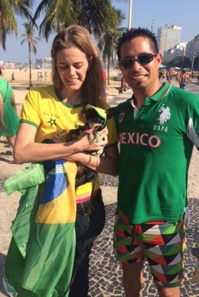 Brasil o México, ¿a quién le vas?
