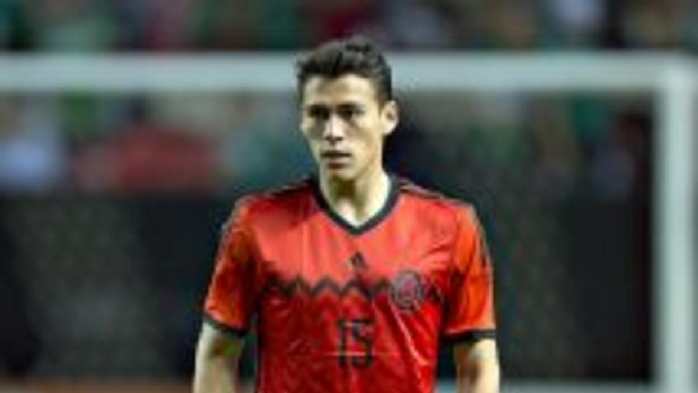 Héctor Moreno se reportó con el 'Tri'.