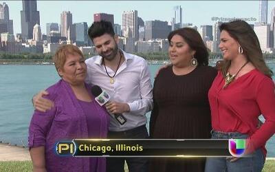 Jomari y Bárbara sorprendieron a una familia latina