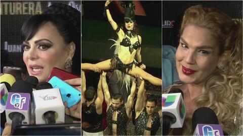 Susana González, Niurka Marcos y Maribel Guardia coinciden en el estreno...