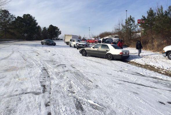 Ivan Camilo de Gardengale, Alabama, envió esta imagen de una carretera n...
