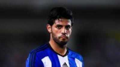 Carlos Vela, delantero de la Real Sociedad.
